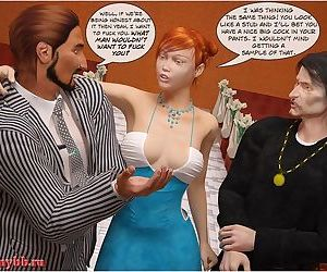 Shemale 3D- Church Threesome