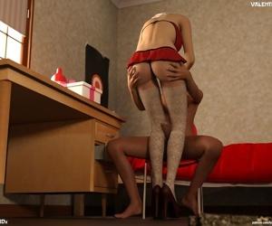 Hijab 3DX- Losekorntrol – Valentine 2