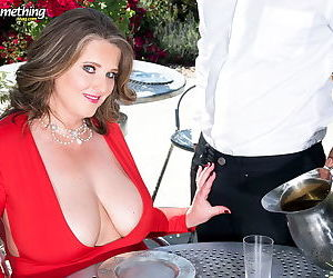 Chubby mature lady loves black cock - part 169
