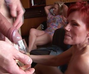 Home orgy full of mature pussy - part 949