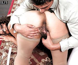 Hairy mature arab secretary persia monir fucked in office - part 2691