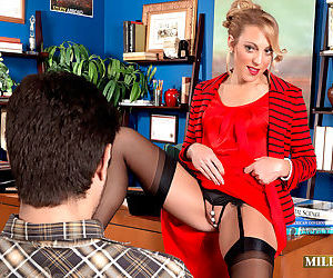 The principals office for a blow job - part 3198