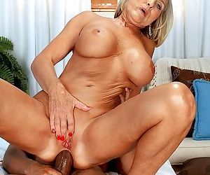 Mature wife cheats on her husband with black cock in her asshole - part 3139