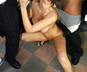 Busty blonde milf julia ann gets bukkaked by several black men - part 2943