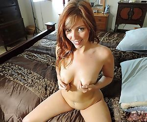 Amateur redhead sexy milf in nude amateur photo shoot - part 2634