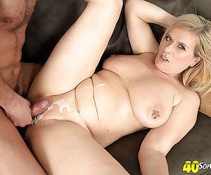 Aged mature lady with pierced vagina marina rene fucked hard - part 2878