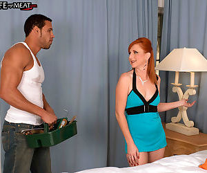 Redhead wife cheating - part 374