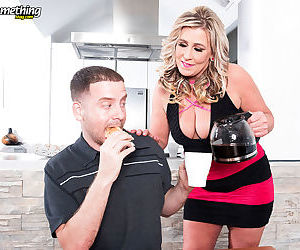 Breakfast with titty licking and oral pleasures - part 2458