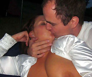 Pictures of a kinky heavy-chested housewife - part 8
