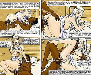 Masters Wife- illustrated interracial