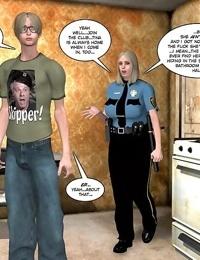 3d xxx comics anime big tits fat chubby mature blonde police - part 622