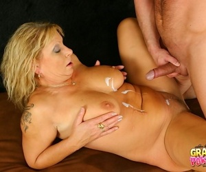 Driving his cock deep into her wet pussy - part 3066