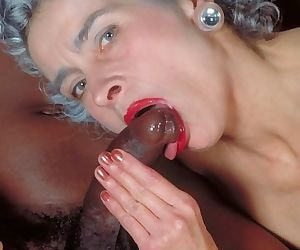 Grey haired granny interracial hardcore - part 2003