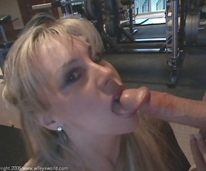 Wifey fucks hubby while attending a party - part 884