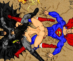 Ksennin Superhero Sketches and Comics - part 2