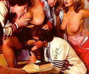 Amazing retro pornstar with huge boobs in classic sex pics - part 870