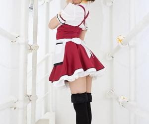 Adorable Japanese girl Misa Kikouden shows long nips while changing clothes