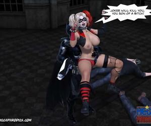 Mega Parodies Comics Collection batman