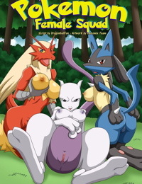 Palcomix- Pokemon Female Squad