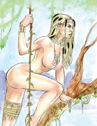Jungle Fantasy - Ivory 005