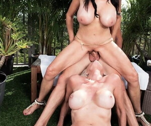 Mature threesome sex with younger guy - part 2631
