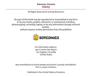 Bot- Felicity Issue #4
