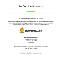 Bot- Going Green Issue 1