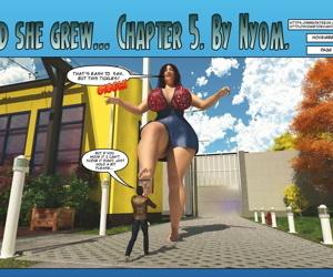 Nyom- And She Grew 5
