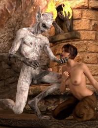HyperComics3D- Cave Monsters