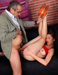 Teen student nadia bella getting screwed by old professor - part 4653