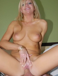 Busty sexy milf reality porn scene from hot mom with nice legs