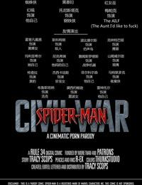 Spider-Man - Civil war 蜘蛛侠 黑寡妇与红女巫
