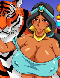 Busty And The Beast - 1001 Nights