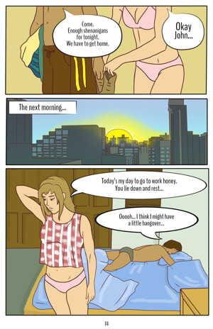 Joyce & John - The Amazing Shrinking Man