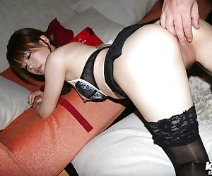 Cuddly asian coed gets screwed and takes a cumshot in her sweet mouth