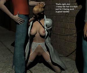 A Slave Walk short 3d Comic