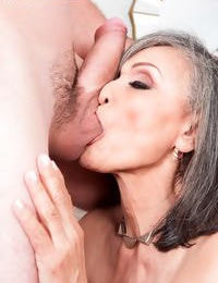 Kokie Del Coco makes her porn debut in and old and youthful tart\'s with a big dick