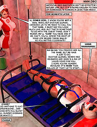 New Arkham For Superheroines 1 - Humiliation and Degradation of Power Girl - part 2