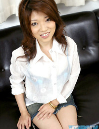 Japanese reiko shows off her fun bags - part 4688