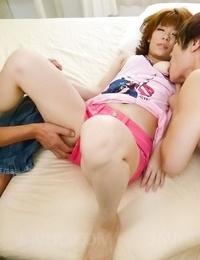 Japanese model junna hara loves a mmf fuck act - part 308