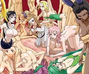 Toon orgy