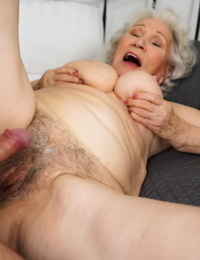 Old woman Norma B has her S/M puss licked before being humped by her fucktoy gifted